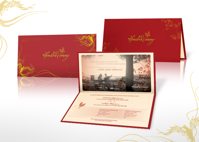 Hendra Vonny Wedding Invitation